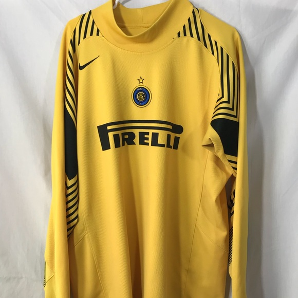 official photos 709f9 349db Nike Italy Inter Milan Goalkeeper Jersey size XL
